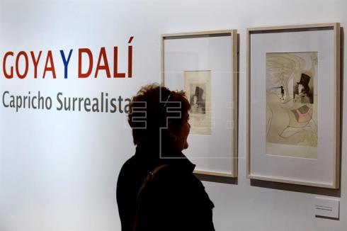 Salvador Dalí vio en Goya al germen de la modernidad y del arte contemporáneo