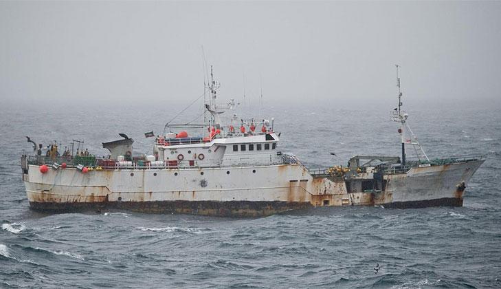 España limpia de piratas la Antártida