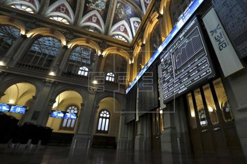 La Bolsa española, a punto de perder los 8.600 puntos, tras caer el 0,58 %