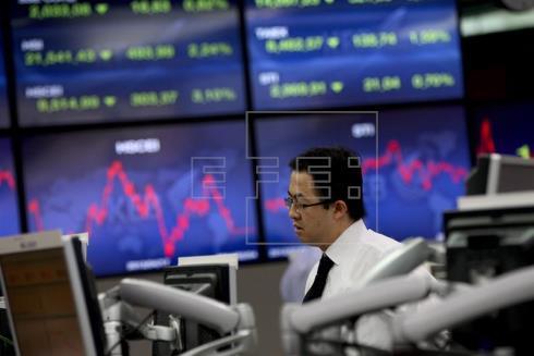 La Bolsa de Seúl cae un 0,20% y la de Tokio cae el 0,36% al cierre
