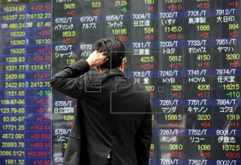 La Bolsa de Tokio cae el 1,55% y la de Seúl sube un 0,57 % al cierre