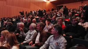 Afiliados y simpatizantes asistentes al  Congreso de UPN