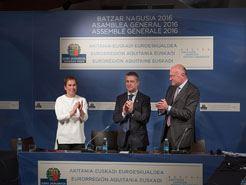 Aprobadas las propuestas de convenio y de estatutos para la adhesión de Navarra a la eurorregión Aquitania-Euskadi