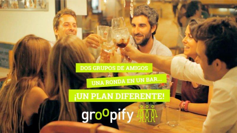 Groopify, de conectar en el móvil a conocerse en persona en un instante