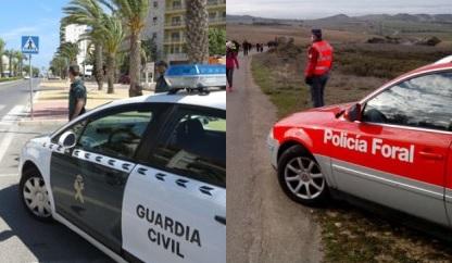 Policía Foral y Guardia Civil inician una campaña de control de velocidad en Navarra