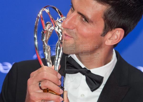 Djokovic gana por tercera vez el Premio Laureus al mejor deportista del año