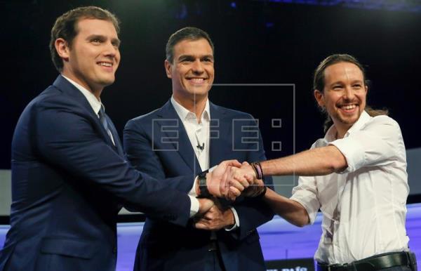 PSOE, Ciudadanos y Podemos se reunirán el jueves en el Congreso