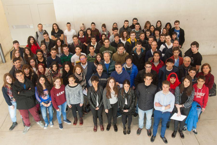70 alumnos de 14 centros educativos de la Comunidad foral participan en la III Olimpiada de Historia