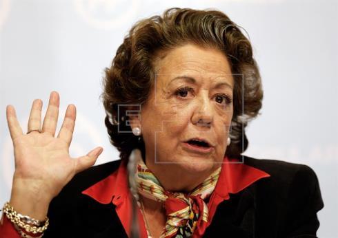 Rita Barberá será la segunda en declarar hoy en el juicio del caso Nóos