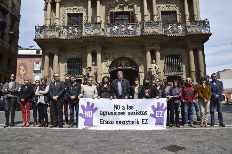 Cinco detenidos por una presunta agresión sexual al comienzo de sanfermines