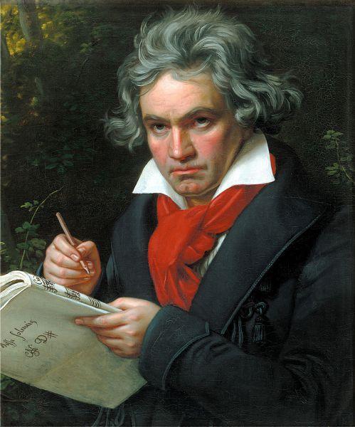 Beethoven con la 9 sinfonía quiso impresionar y subrayar la fraternidad universal