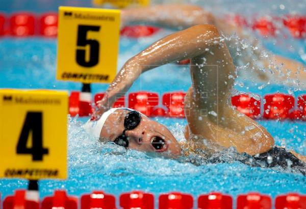 Mireia Belmonte, cuarta en los 800 libre