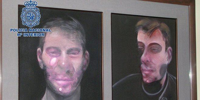 Siete detenidos por el robo de cinco cuadros de Francis Bacon, que aún no han sido recuperados