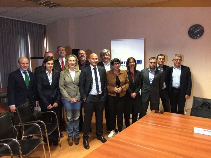 Navarra participa en 25  proyectos de cooperación transfronteriza España-Francia-Andorra