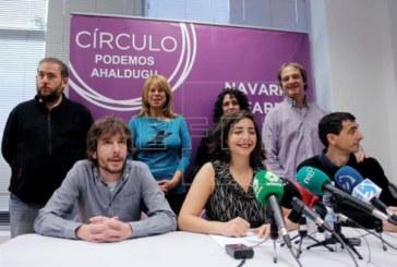 Podemos descarta definitivamente un pacto con Geroa Bai y EH Bildu en Navarra