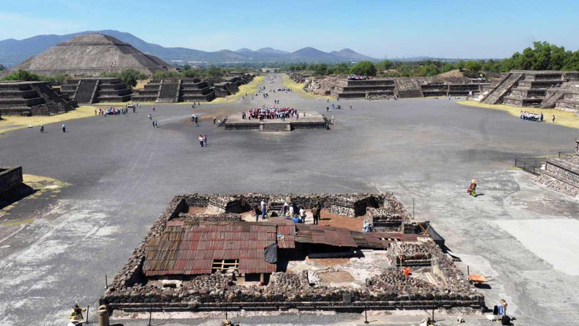 Descubiertas nuevas ruinas en la zona arqueológica de Teotihuacan, en México