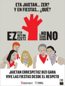 Hosteleros de Navarra se suma a la lucha contra las agresiones sexistas en las fiestas