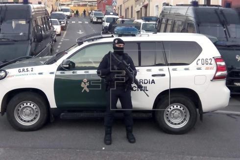 Cuatro detenidos en Madrid por presunta captación de yihadistas