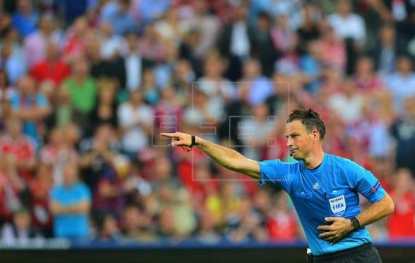 Mark Clattenburg dirigirá la final Real Madrid-Atlético de Madrid