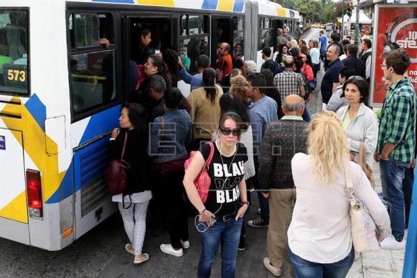 Grecia vive un fin de semana de movilizaciones contra la ley escoba del Gobierno