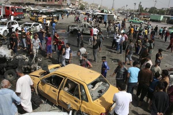 Una nueva ola de atentados causa al menos 36 muertos en Bagdad