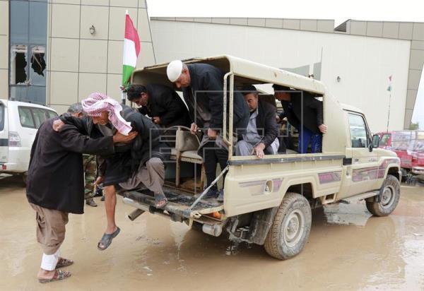 Mueren 13 miembros de EI en un bombardeo de la coalición al oeste de Mosul
