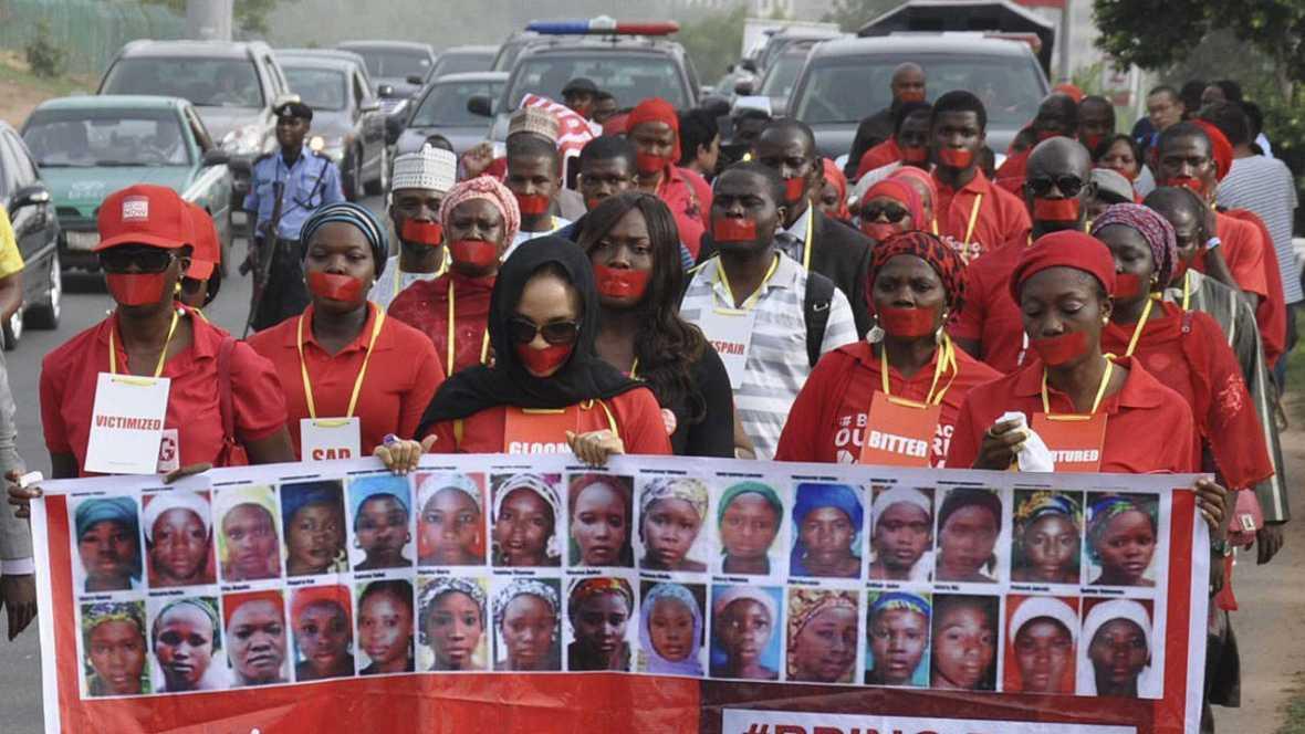 Encuentran en el norte de Nigeria a una de las niñas secuestradas en Chibok por Boko Haram