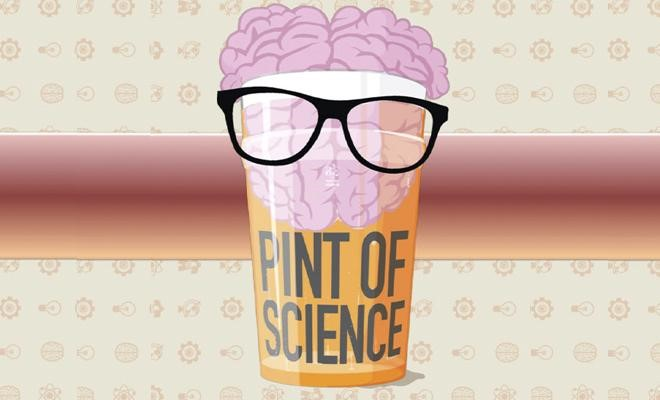 "AGENDA: 25 de mayo, en Central Kafe de Pamplona, ""Pint of Science"""