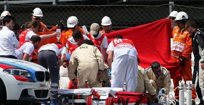 Muere el piloto de motos Luis Salom tras un grave accidente en Montmeló