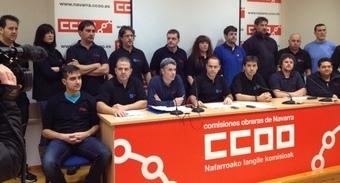 CCOO Navarra llama a la