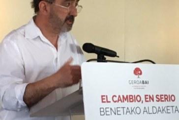 "Innerarity (Geroa Bai): ""Apostamos por exportar el cambio de Navarra a Madrid"""