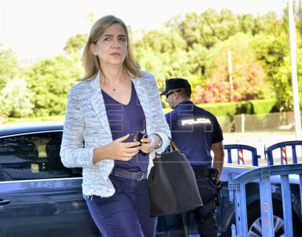 El Tribunal Supremo rebaja la responsabilidad civil de la infanta Cristina