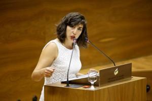 Laura Pérez, portavoz de Podemos
