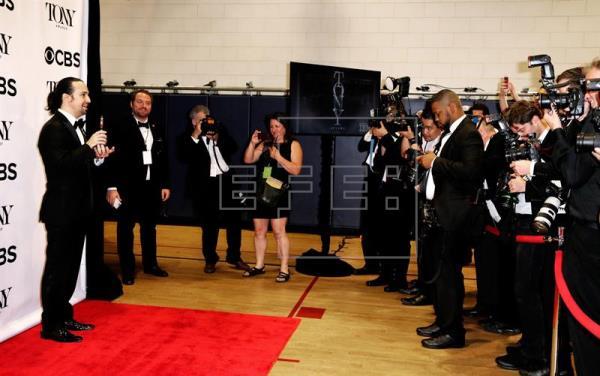 """Los Tony se rinden ante el musical """"Hamilton"""" y reivindican la diversidad"""