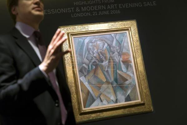 A subasta una pintura cubista de Picasso por más de 35 millones de euros