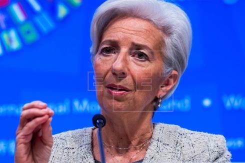 Lagarde: El euro ayuda a mantener crecimiento en España pese a incertidumbre