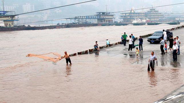 Al menos 78 muertos por tormentas en la provincia china de Jiangsu