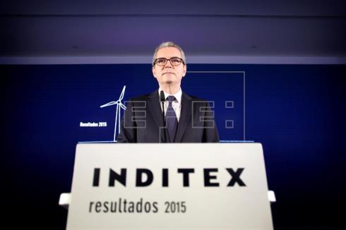 Inditex se desploma más del 5 % tras presentar sus resultados
