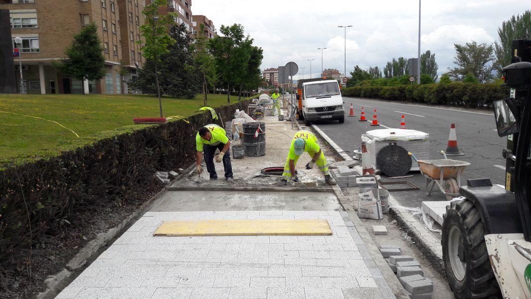 Pamplona, adjudica 4, 8 millones de euros para el mantenimiento de vías y espacios públicos municipales
