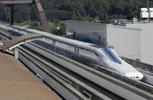 Japón adelanta la construcción del tren magnético de alta velocidad Tokio-Osaka a 2037
