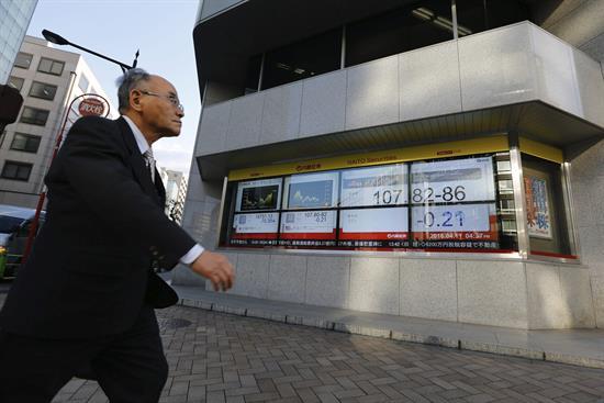 La Bolsa de Tokio sube un 0,49 % y la de Seúl un 0,36 % al cierre