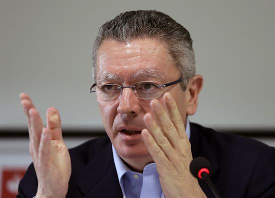 Gallardón destaca necesidad de cambiar el sistema electoral