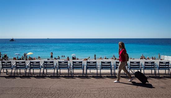 Reabre el paseo de los Ingleses de Niza, tras el atentado