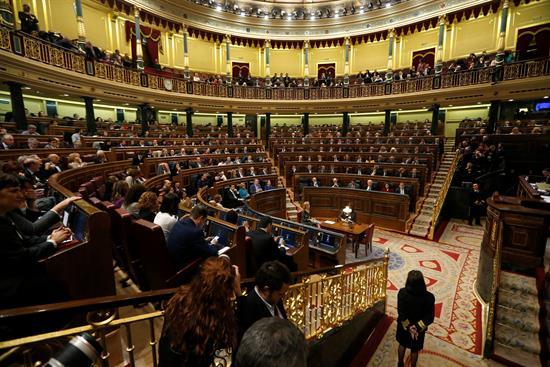 Comienza la primera sesión del Congreso con la formación de la Mesa de Edad
