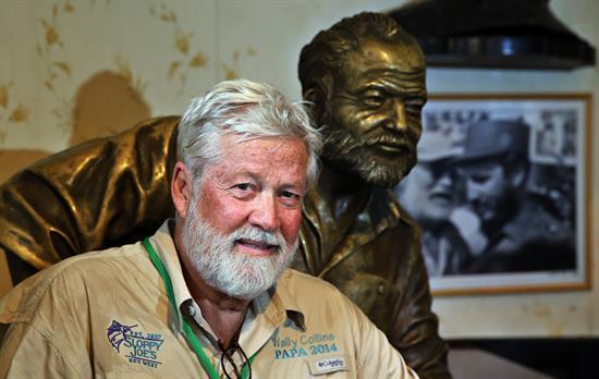 AGENDA: de 1 a 10 de diciembre, en Pamplona, Exposición 'Recuperando a Hemingway'