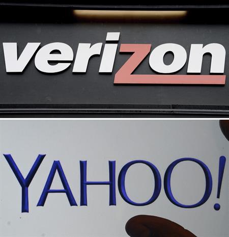 Verizon acuerda comprar Yahoo por 4.830 millones de dólares
