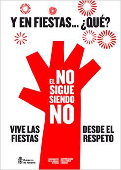 El Gobierno de Navarra condena la agresión sexista ocurrida en Pamplona