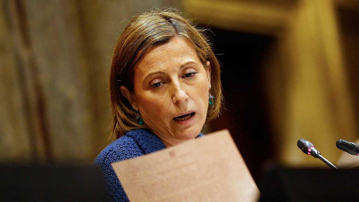 El Gobierno pide al Constitucional que abra la vía penal contra Forcadell