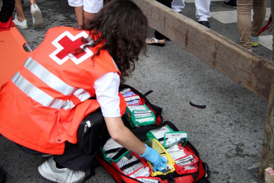 San Fermín 2016: Cruz Roja traslada cinco corredores a urgencias en el sexto encierro