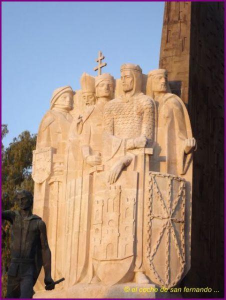 Detalle monumento navas de tolosa 1902